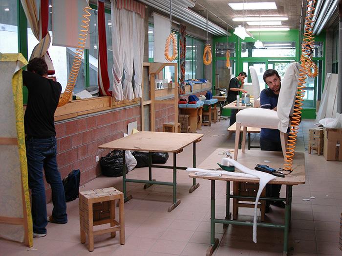 Loris tapezierer und dekorateur for Ausbildung innendekorateur